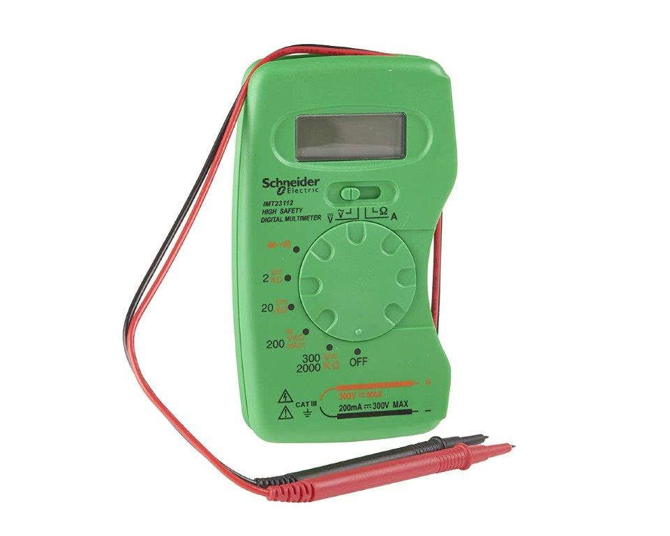 Schneider Electric Digital Multimeter Pocket Cat III