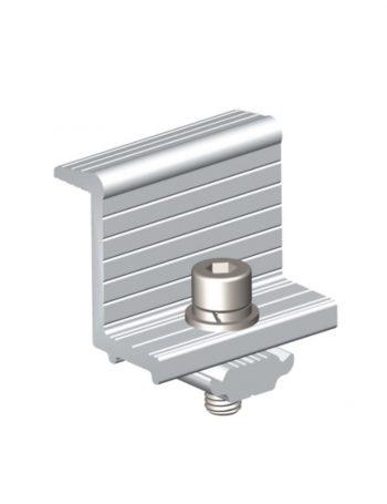 Aluminium End Clamp 40mm